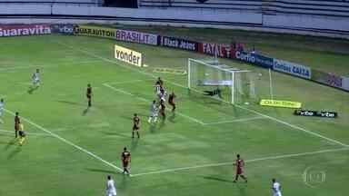Náutico perde para o Vila Nova no Arruda - Timbu está rabaixado para a Série C do Brasileirão