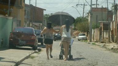 Calor é intenso neste sábado em Campos, no RJ - Assista a seguir.