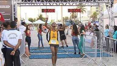 Vencedora fala da emoção de completar a Volta de Aracaju - Vencedora fala da emoção de completar a Volta de Aracaju.
