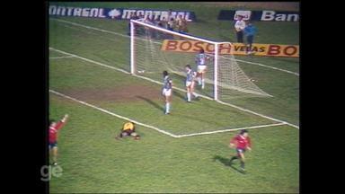Grêmio perde primeiro jogo da final da Libertadores de 1984 para o Independiente - Assista ao vídeo.