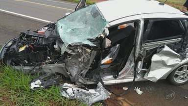 Padre fica ferido em acidente na BR-491 em São Sebastião do Paraíso (MG) - Padre fica ferido em acidente na BR-491 em São Sebastião do Paraíso (MG)
