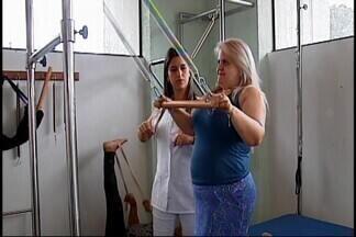 Depois de cinco meses parado, projeto 'Escola da Coluna' volta a funcionar em Araxá - Iniciativa atende trabalhadores formais e autônomos que têm problemas na coluna.
