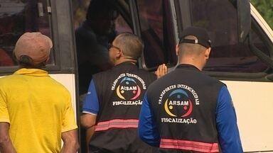 Feriado tem fiscalização intensificada nas estradas de Manaus - 591 veículos e 4855 passageiros se deslocaram da cidade no feriado anterior.