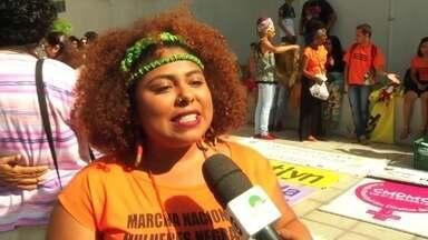 População do Crato participa da caminhada da contra o fim da discriminação racial - Saiba mais em g1.com.br/ce