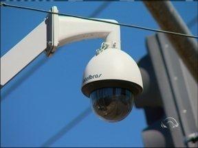 Câmeras de monitoramento dependem de licitação para funcionar em Passo Fundo, RS - Apenas cinco das 70 câmeras estão funcionando na cidade