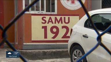 Dois ataques ao SAMU são registrados na mesma delegacia, no Jardim Míriam - Ladrões assaltam unidades e depredam ambulância na Zona Sul.