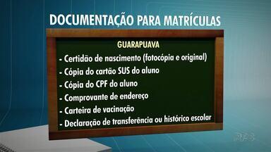 As matrículas para Cmeis e Escolas Municipais de Guarapuava para 2018 já começaram - Confira também a lista com os documentos necessários para as matrículas e rematrículas.