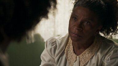 Mãe conta para Raquel que Bruno a procurou - Ela diz que o mandou ir embora