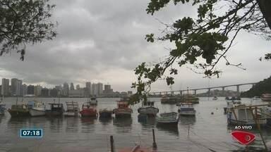 Espírito Santo tem alerta de temporal e pancadas de chuva em todo o estado - Previsão é de chuva forte na Grande Vitória, e nas regiões Noroeste e Serrana.