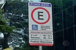Zona Azul de Arujá tem mudanças - Estacionamento controlado terá mudanças em relação a deficientes físicos e idosos e outros pontos.