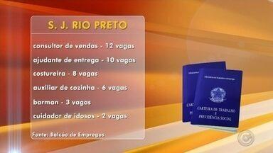 Balcão de Empregos de Rio Preto oferece mais de 100 oportunidades - Em São José do Rio Preto (SP) tem mais de 100 vagas de emprego abertas. Os interessados devem ir até o Balcão de Empregos, na rua Ondina, número 216, na Redentora.
