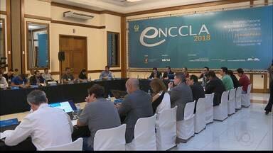 Encontro nacional debate estratégias de combate à corrupção reúne especialistas em CG - Evento começou ontem à tarde.
