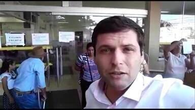 Funcionários da Santa Casa de Goiânia entram em greve - Pacientes que chegaram em busca de atendimento ficaram sem auxílio.