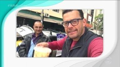 Tomar café da manhã nas ruas de São Paulo é quase um desafio - O apresentador Fernando Rocha preparou a reportagem.