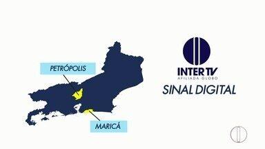 Sinal analógico de TV será desligado nesta quarta-feira em Petrópolis e Maricá, no RJ - Assista a seguir.