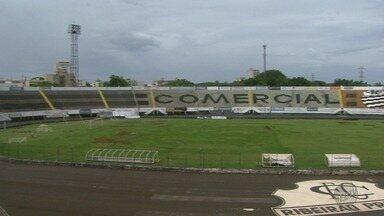 Estádio Palma Travassos passa por reformas para a temporada do Comercial - Previsão é que o gramado da Joia esteja pronto em janeiro para o início dos treinos.