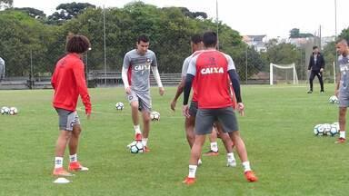 Veja imagens do treino do Atlético-PR desta quarta-feira - Veja imagens do treino do Atlético-PR desta quarta-feira