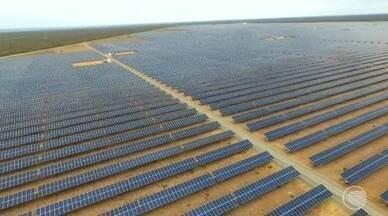 Usinas de energia solar e eólica mudam a vida de piauienses - Usinas de energia solar e eólica mudam a vida de piauienses