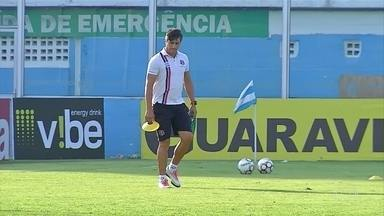 Contra o Paysandu, Santa faz partida com Adriano Teixeira à frente da equipe - Contra o Paysandu, Santa faz partida com Adriano Teixeira à frente da equipe