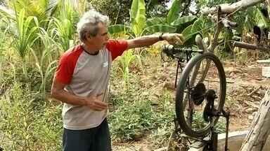 Conheça as invenções de um agricultor em Taperuaba - Saiba mais em g1.com.br/ce