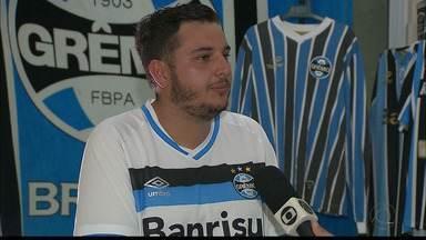 Paixão tricolor: torcedor deixa Paraíba para acompanhar o Grêmio na final da Libertadores - Leonardo Ogrodowiski promete fazer tatuagem de Renato Gaúcho em caso de título na decisão contra o Lanús