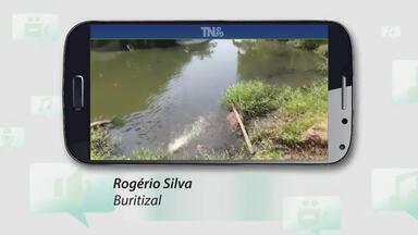 Tô na Rede: moradores registram vazamentos e água em canal e avenida de Macapá - Tô na Rede: moradores registram vazamentos e água em canal e avenida de Macapá