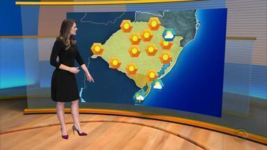 Amanhecer deve ser com temperaturas baixas na quinta-feira (23) no RS - Assista ao vídeo.