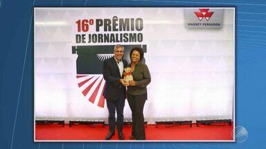 Bahia Rural conquista o terceiro lugar do prêmio Massey Ferguson de Jornalismo - Reportagem foi escolhida entre mais de 200 outros trabalhos no Brasil.