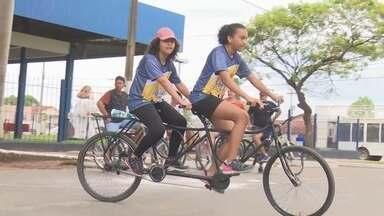 Passeio ciclístico marca as comemorações do aniversário de Ji-paraná - Gustavo Rebouças.
