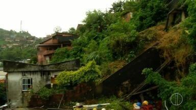 Cidades da Região Serrana do Rio recebem alerta de chuva forte - Assista a seguir.