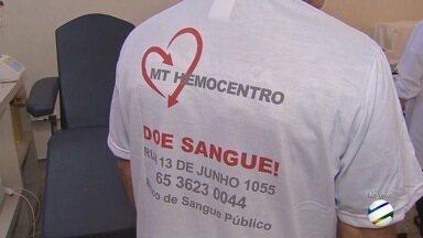 Hemocentro está com estoque baixo na semana do doador - Hemocentro está com estoque baixo na semana do doador.