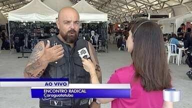 Encontro de motociclistas agita Caraguá no fim de semana - Além de exposição dos veículos, programação tem shows com as bandas Biquini Cavadão e Attomica
