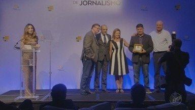 Série 'Plano de Voo' da EPTV é premiada pela Associação Brasileira das Empresas Aéreas - Reportagens conquistaram os jurados na categoria Inovação e Sustentabilidade.