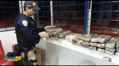 Dez por cento de toda cocaína apreendida no Paraná foi encontrada na região centro sul - Encontrar cigarros contrabandeados e drogas tem sem tornado rotina.