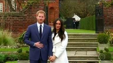 Casa Real Britânica anuncia o casamento do príncipe Harry - Harry de Gales e a atriz americana Meghan Markle devem se casar na primavera de 2018.