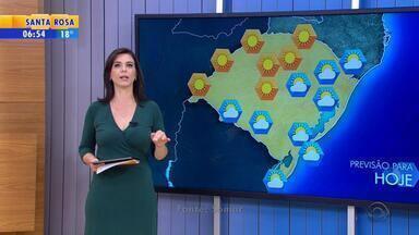 Tempo: ar seco predomina no RS nesta terça-feira (28) - Veja a previsão do tempo.