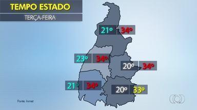 Confira a previsão do tempo para o estado nesta terça-feira (28) - Confira a previsão do tempo para o estado nesta terça-feira (28)