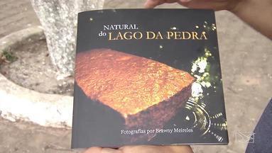 Livro lançado na semana passada faz homenagem à Lago da Pedra - Publicação do fotógrafo Brawany Meireles traz um pouco da história da de Lago da Pedra e retrata cenas do cotidiano.