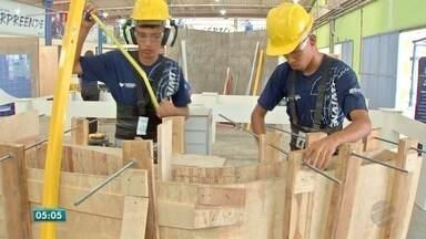 Soluções técnicas para um canteiro de obras ou na montagem de um jardim - Soluções técnicas para um canteiro de obras ou na montagem de um jardim, vão para as Olimpíadas.