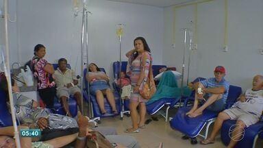Virose leva muitos pacientes aos postos de saúde de Tangará da Serra - Virose leva muitos pacientes aos postos de saúde de Tangará da Serra.