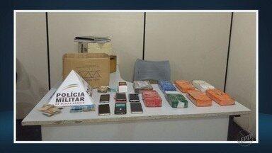 Dois homens são presos suspeitos de tráfico de drogas em Passos (MG) - Dois homens são presos suspeitos de tráfico de drogas em Passos (MG)