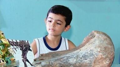 Morador de Jaci encontra fóssil em área rural da cidade - Um morador de Jaci (SP) encontrou um fóssil em área rural da cidade. Confira a história.