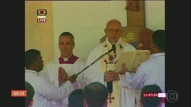 Papa tem encontro com representantes de refugiados muçulmanos em Bangladesh - O Papa Francisco tem encontrou com representantes de refugiados muçulmanos que fugiram em massa de Mianmar.