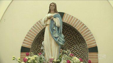 São Luís tem missa e procissão em homenagem a Nossa Senhora da Conceição - Devotos na capital acordaram cedo para louvar e agradecer as bênçãos alcançadas pela santa.
