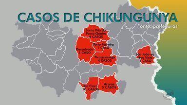 Cidades da região somam 28 casos de chikungunya neste ano - Cidades como Porto Ferreira, Descalvado, Santa Rita do Passa Quatro, Pirassununga e Rio Claro, já notificaram casos da doença.