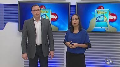 'Você no ABTV' mostra problemas em Caruaru - Reclamações são de escuridão e vazamento de água.