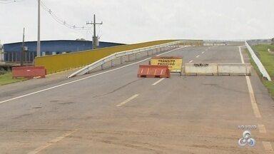 Viaduto da três meio tem inauguração adiada - Segundo o Dnit a previsão é que a obra seja inaugurada na próxima segunda-feira (11).