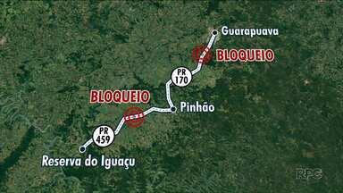 Integrantes do MST bloqueiam rodovia por mais de 60 horas - O abastecimento de alimentos e combustíveis está prejudicado