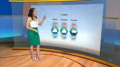 Tempo: sábado (9) deve ser com sol e temperaturas altas no Rio Grande do Sul - Assista ao vídeo.