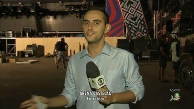 Villa Mix reúne milhares de pessoas neste sábado no Castelão - Confira mais notícias em G1.Globo.com/CE